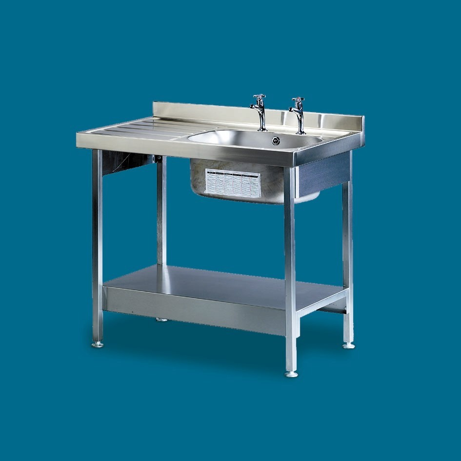 600mm Wide Stainless Steel Sink Range