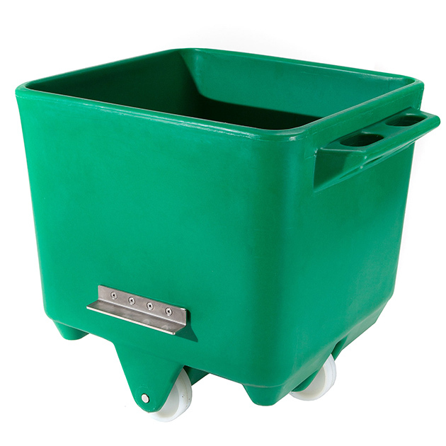 200-litre Polyethylene Tote Bin with Stainless Steel Lifting Brackets