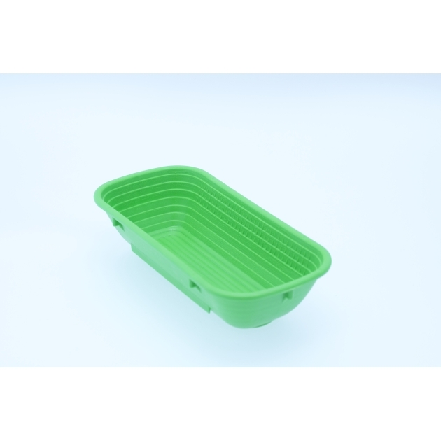 Polypropylene Proving Basket - 500g/1lb - Rectangular