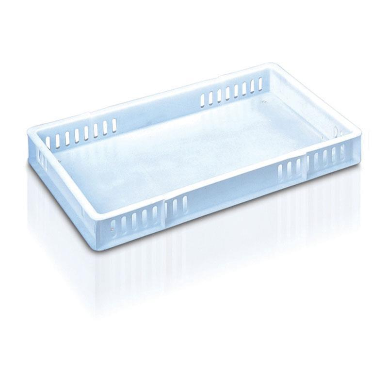 22-litre Bakery Tray with Solid Base and Vented Sides - 762mm x 457mm range