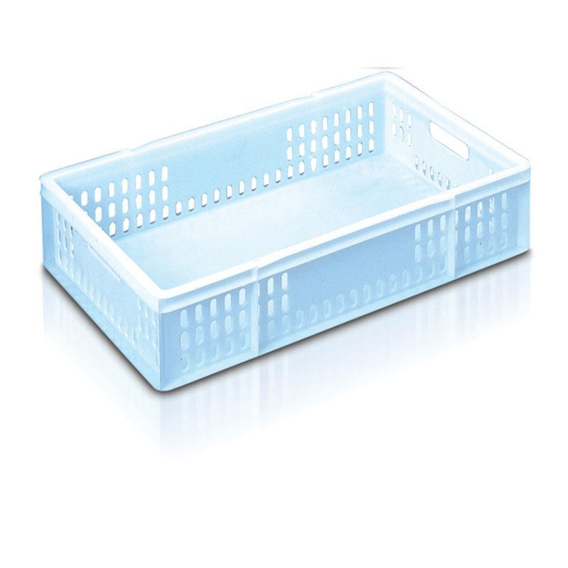 48-litre Bakery Tray with Solid Base and Vented Sides - 762mm x 457mm range