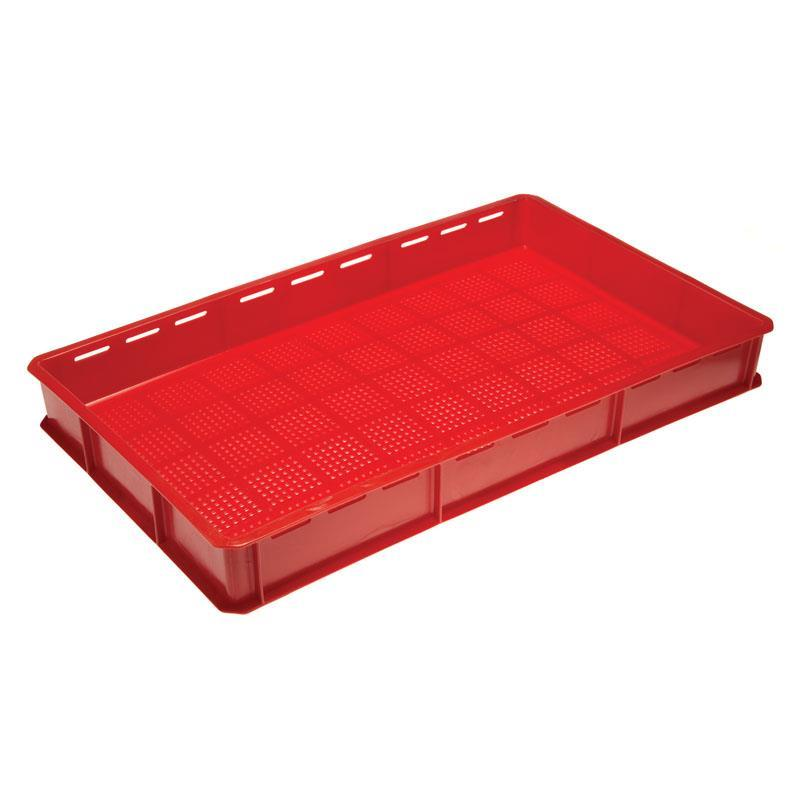 20-litre Bakery Tray with Fine Mesh Base and Slotted Sides - 765mm x 455mm Range