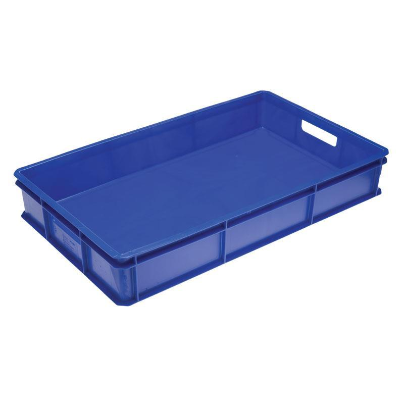 30-litre Bakery Tray with Solid Base and Solid Sides with Hand Holds - 765mm x 455mm Range