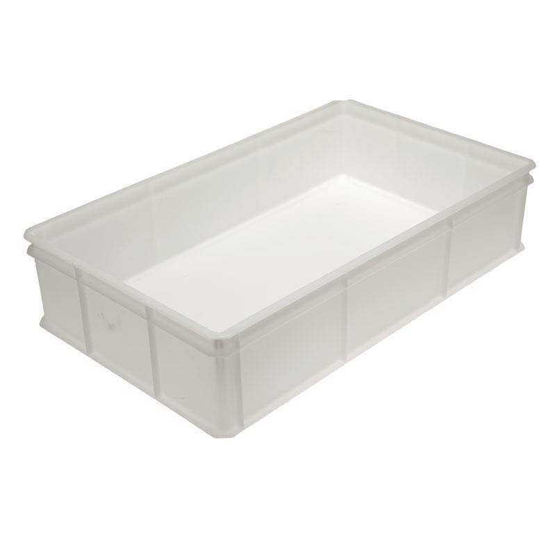 50-litre Bakery Tray with Solid Base and Solid Sides - 765mm x 455mm Range
