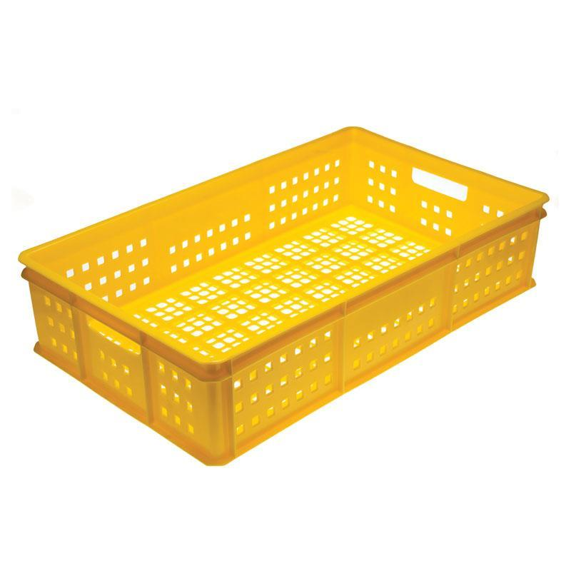50-litre Bakery Tray with Mesh Base and Mesh Sides with Hand Holds - 765mm x 455mm Range