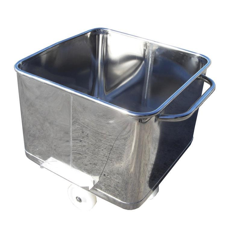 200-litre Stainless Steel Tote Bin