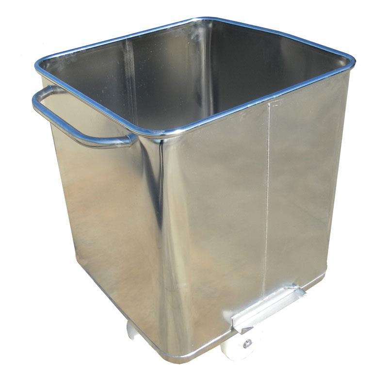 300-litre Stainless Steel Tote Bin