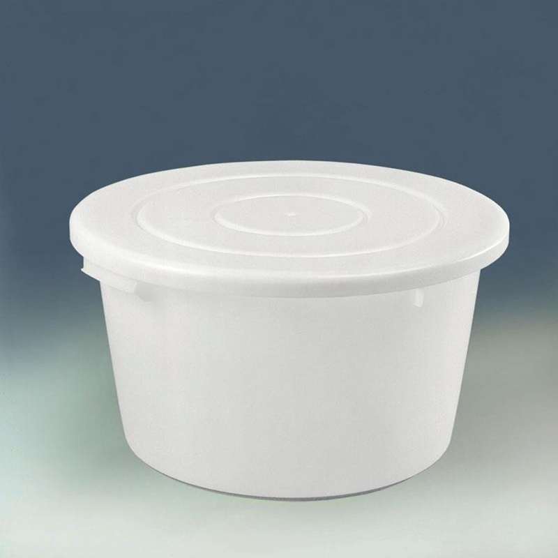Plastic 65-litre Flat Bottom Bowl Lid