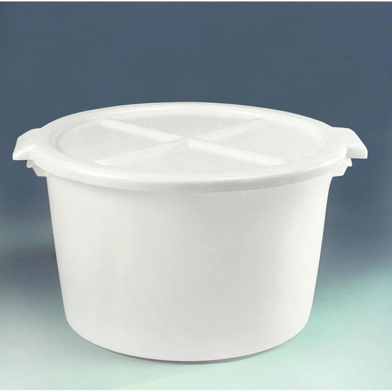 Plastic 85-litre Flat Bottom Bowl Lid