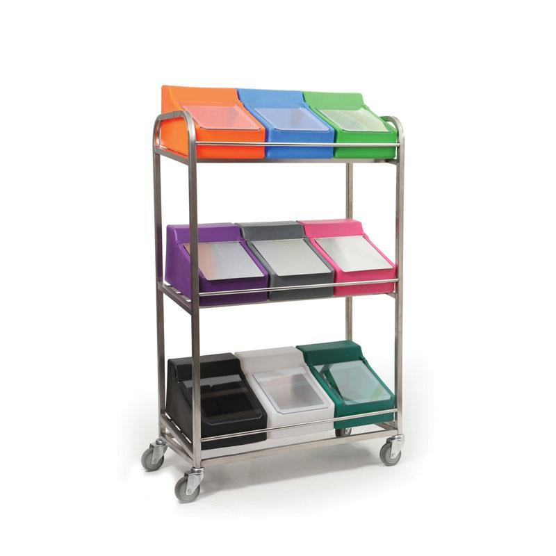 Mobile Small Dispenser Rack