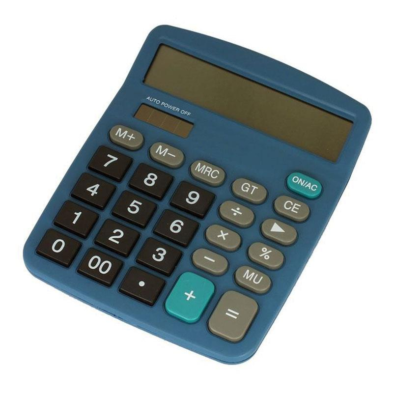 Detectable Plastic Desktop Calculator